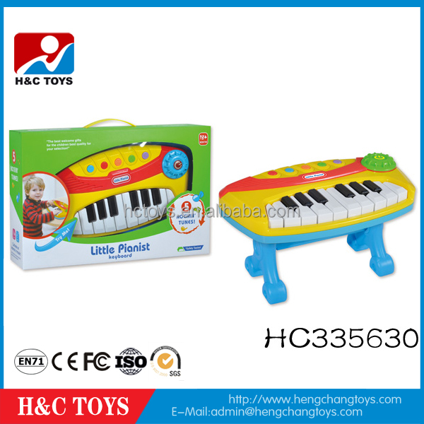 Educational Toys plastic electronic toy piano keyboard for children HC335630
