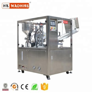 Auto Ultrasonic Cosmetics Soft Tube Filling Sealing Machine