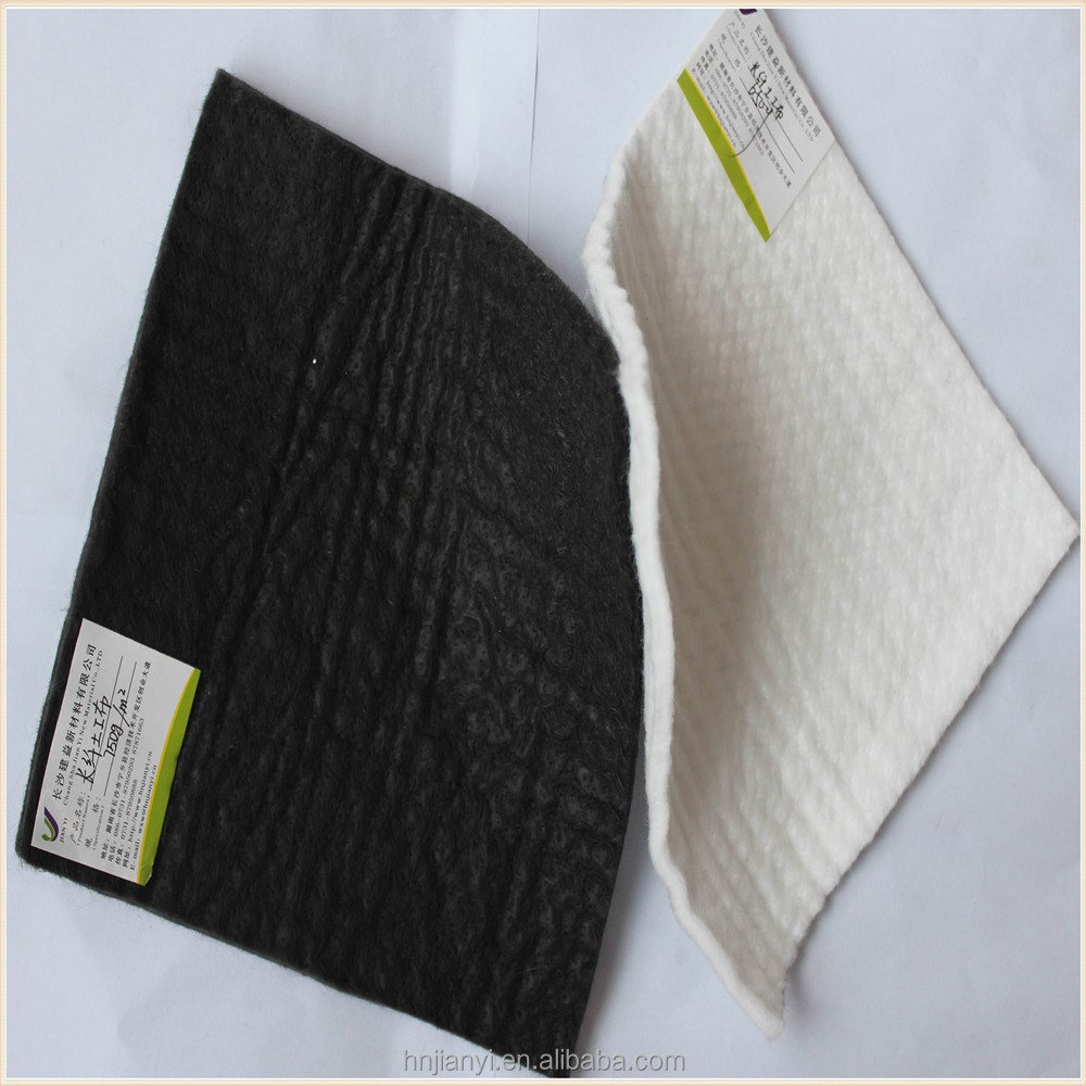 railway constructions used non woven geo textile/geotextile used in road construction