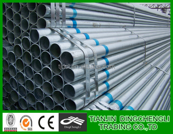 Tianjin Supplier steel galvanized pipes for greenhouse/galvanized sheet price per kg