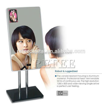 13.3inch Table Stand Hd Resolution Adverting Display Advertising ...