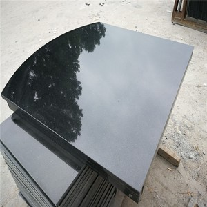Black Granite Polished Hearth Boxed & Lipped