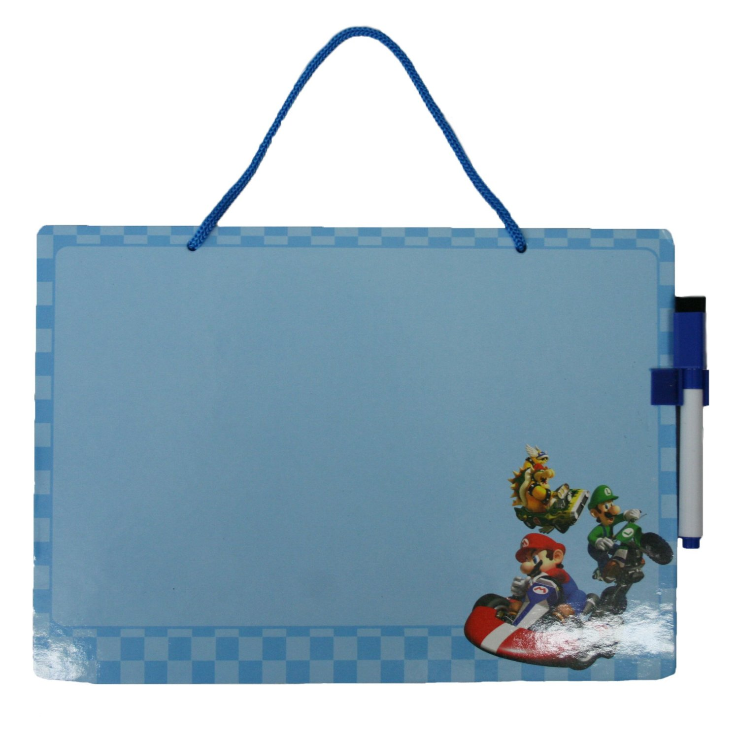 Nintendo Super Mario Bros. Hanging Dry Erase Board with Marker Party Favors / Officially Licensed