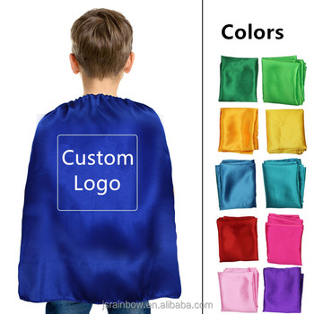 Wholesale halloween costume superhero capes and masks for kids