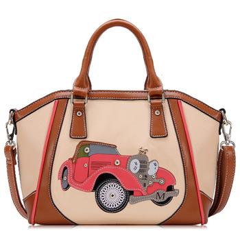 79ba32b181 2017 Fashion Carriage Wheels Design Women Hobo Bag Car Vehicle Ladies  Handbag