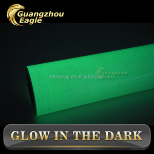 High Quality Reflective Material Grow In The Dark Luminescent Vinyl Film,Luminescent Vinyl Film,Glow In The Dark Material