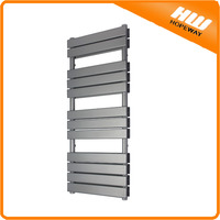 Grey design radiator Heated Towel Rail Radiator incl. towel radiator