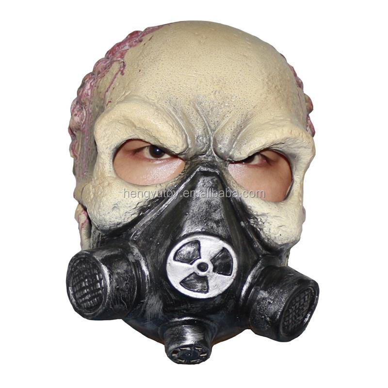 Latest Novelty Items Human Mask Party Mask Latex Full Face Gas Mask