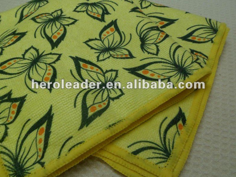 Microfiber Printed Universal Cleaning Cloth