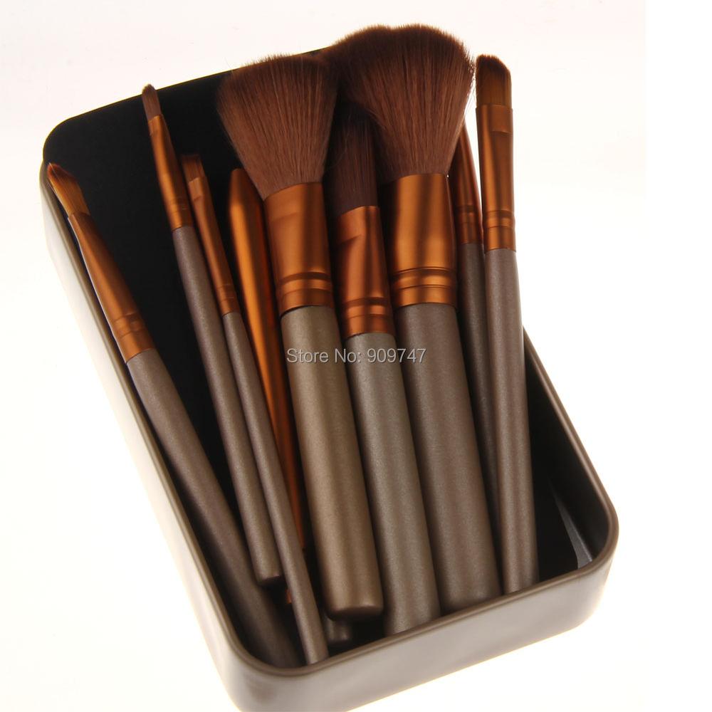 c4278535aa6e New Professional makeup brushes 12pcs/set make up brush sets eye ...