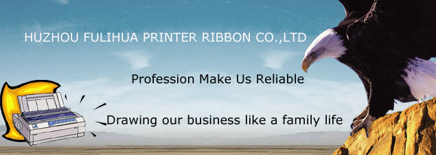 Nylon Fabric Ribbon Roll For Dot Matrix Printer Ribbon