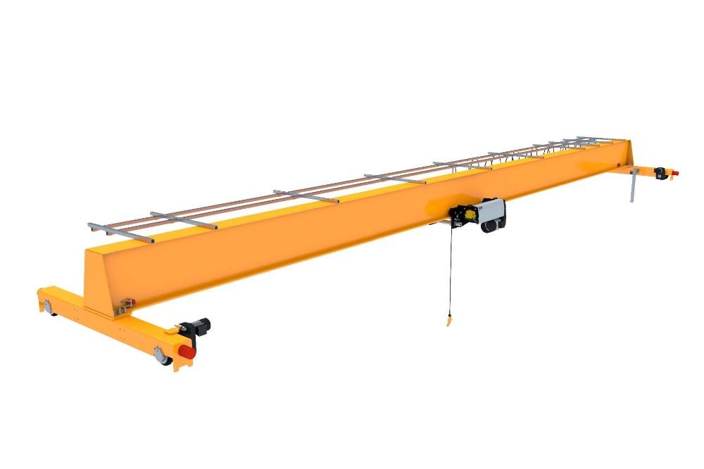 10 Ton 20 Ton Single Beam Traveling Overhead Crane Busbar