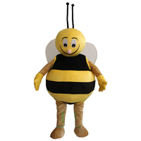 HI CE custom funny cartoon charactor Christmas party bee mascot costume lyienny for adults