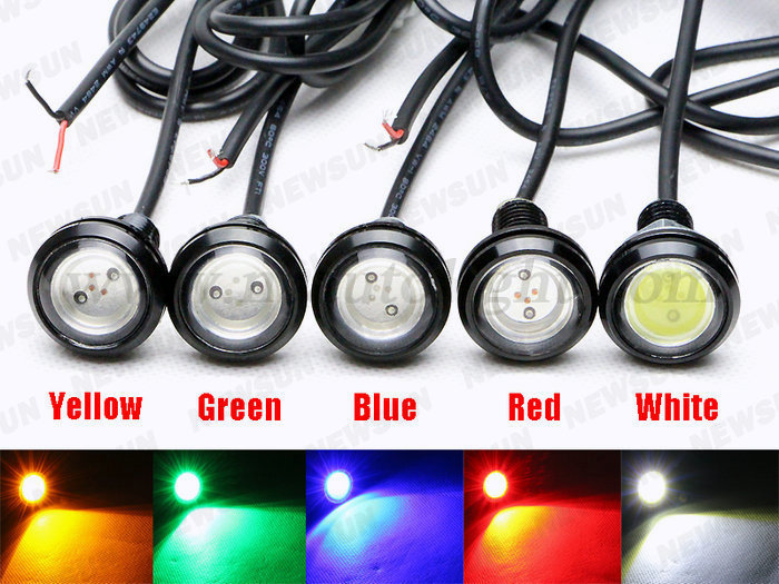 12 Volt Daytime Running Light 18mm 23mm Eagle Eye Led Waterproof ...