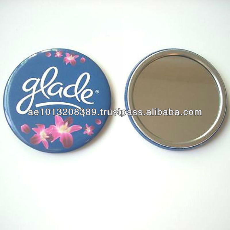 New arrived beautiful eco-friendly tin mirror