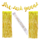 Bride To Be Sash She Said Yaas Banner Decorations Wedding