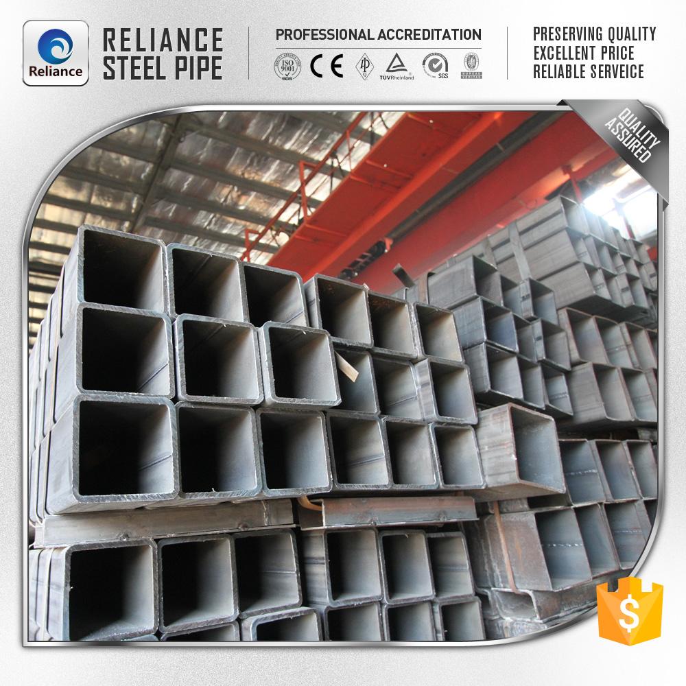 200x200mm carbon tubos cuadrados de acero o tubos de acero - Tubos cuadrados acero ...
