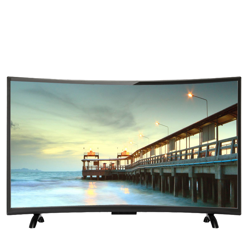 49 inç kavisli led tv ekran hd 4 K televizyon akıllı led tv