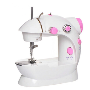 Zogift FHSM-202 household multi-function mini domestic overlock button sewing machine industrial with manual