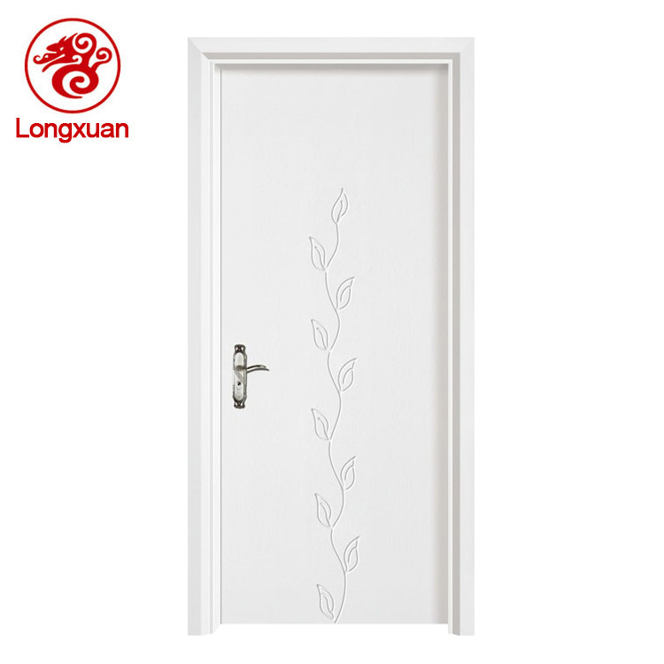 Prehung Interior Doors Flush White Modern Unique Chinese Interior
