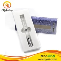 Cig Gallery wax atomizer glass oil burners for smoking 510 thread clear glass bubble pipe glass tank atomizer