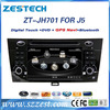 ZESTECH wholesale alibaba 7 inch double din car dvd gps for JAC J5 with GPS/Bluetooth/DVD/CD/MP3/Mp4/Steering wheel control