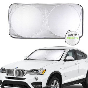 Silver Reflective Foil Windshield Snow Blocked Anti-UV Car Sun Shade