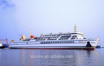 50m Ro Ro Ship Passenger Car Ferry Passenger Ferry Boats For Sale