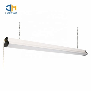 LED Shop Light for garages,4FT 4500LM,5000K Daylight White,LED Ceiling Light,ETL listed,with pull Chain( on/off)