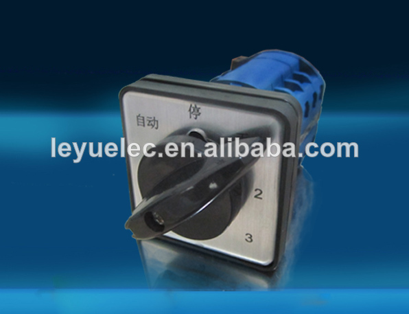 automatic LW26-20A electric operated change-over/rotary switches select digital 2p control 240V-500V