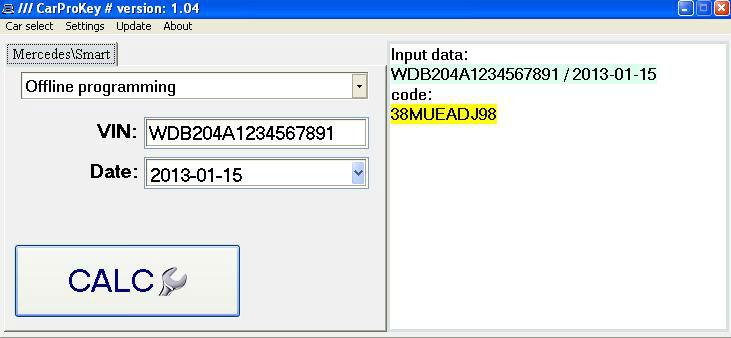 Carprokey Xentry Password Generator Offline Programming - Buy Carprokey  Xentry Password Generator Offline Programming Product on Alibaba com