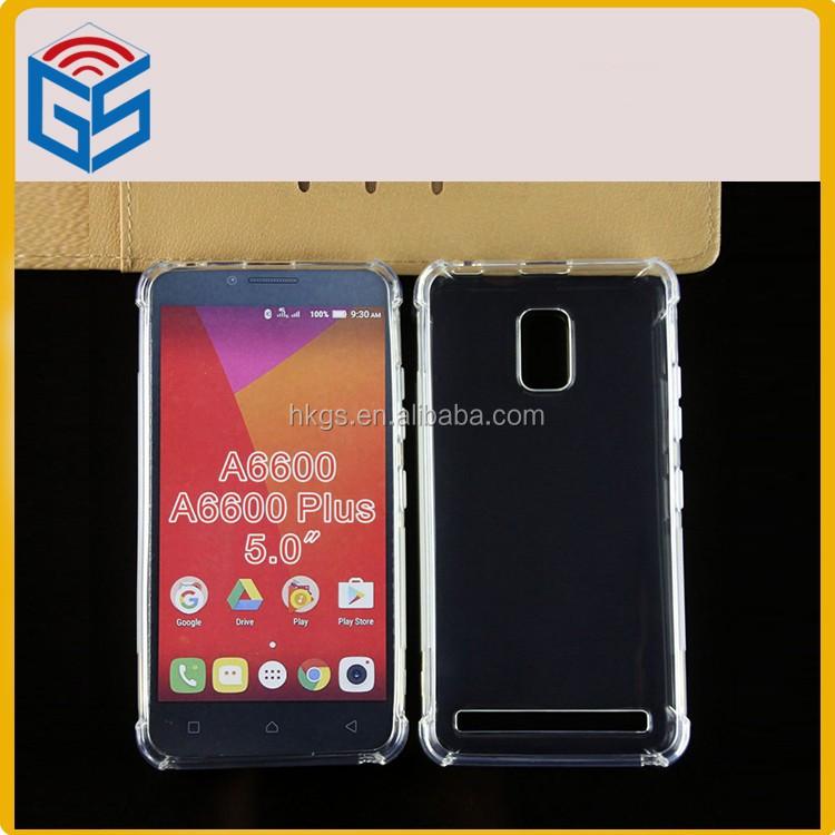 For Lenovo A6600 Plus Smartphone Case Transparent Soft Tpu Cover