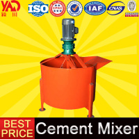 China Suppliers Easy Mix Planetary Mortar Manual Cement Mixer Price