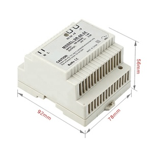 DR-60-24 PSU 12v din rail switch power supply 24v plastic box din rail ac/dc transformer 60w 2.5A