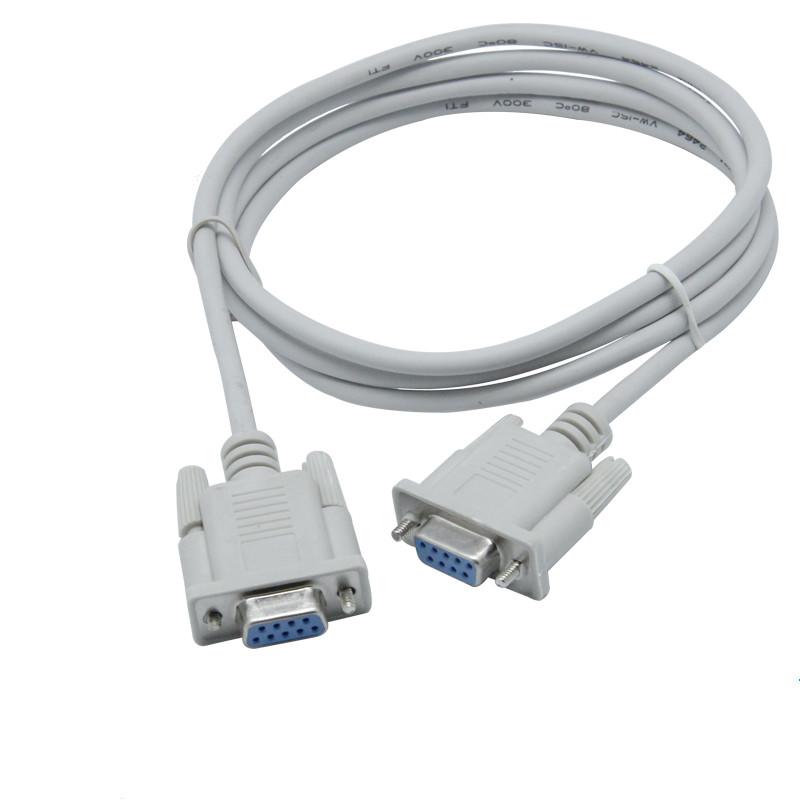 2RH7219 StarTech.com 1m Black DB9 RS232 Serial Null Modem Cable F//M
