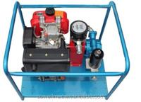 Diesel engine Driven Self-suction Sliding Pump including flow meter,filter,quick coupler