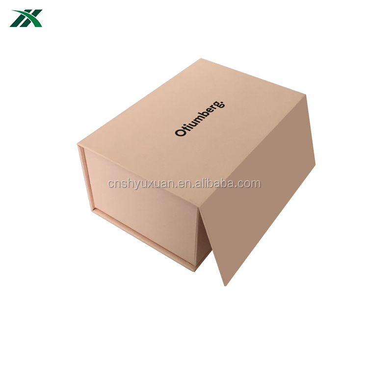 custom printed pink protective frame packaging paper box
