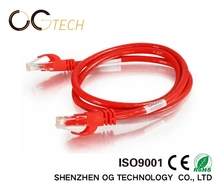Ethernet utp 2 pair cat6 utp lan cable for internet connection