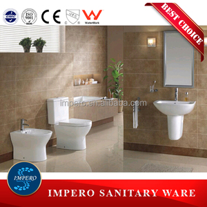 ceramics sanitary ware set in bathroom toilet suite