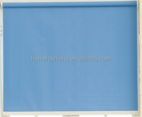roll up blinds supplier factory in china blue shades