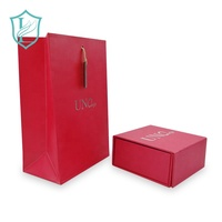 Custom Red Luxury Cosmetics lipstick Watch gift packaging Set