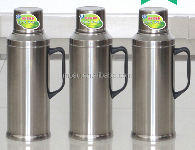promotion 2 2 liter glass lined stainless steel vacuum airpot ss thermos flask inner glass buy. Black Bedroom Furniture Sets. Home Design Ideas