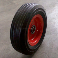 8' inch small solid wheel tire