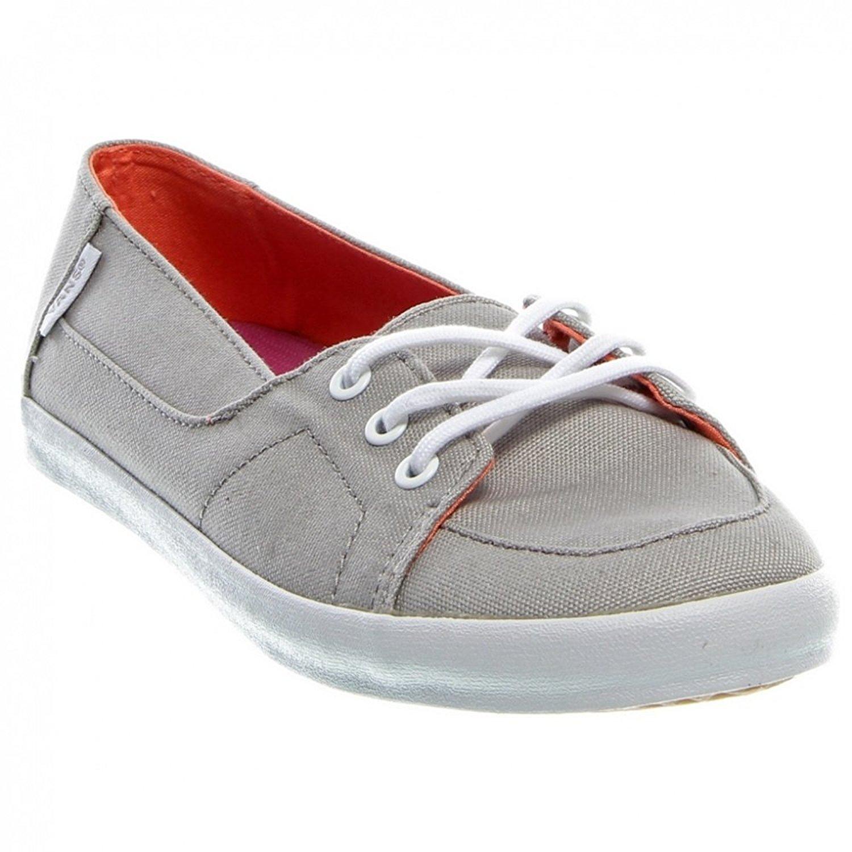 07ceb86680 Get Quotations · Vans Girls Palisades Vulc Paloma Grey size 5Y surf shoe