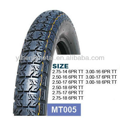 Dunlop Motorcycle tire 2.50-17/3.00-17