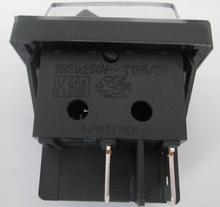 Waterproof Rocker Switch with Double pole On -Off with IP65 for Electrical equipment manufacturer China