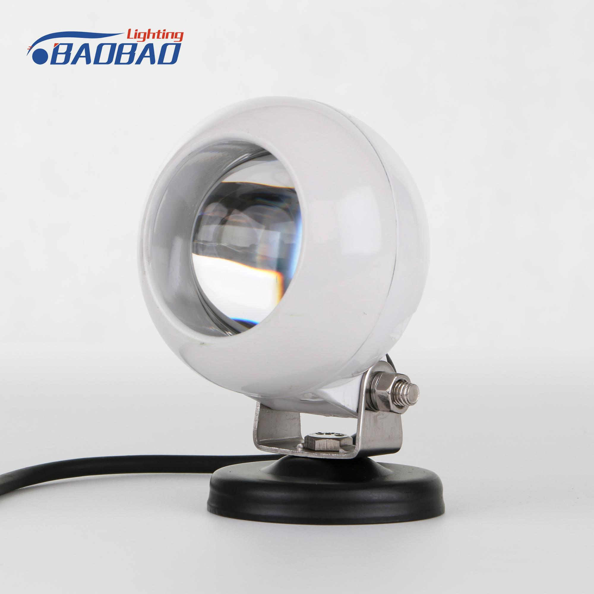 Guangzhou auto accessories market 10-40v led work light 25w,led worklamp for car