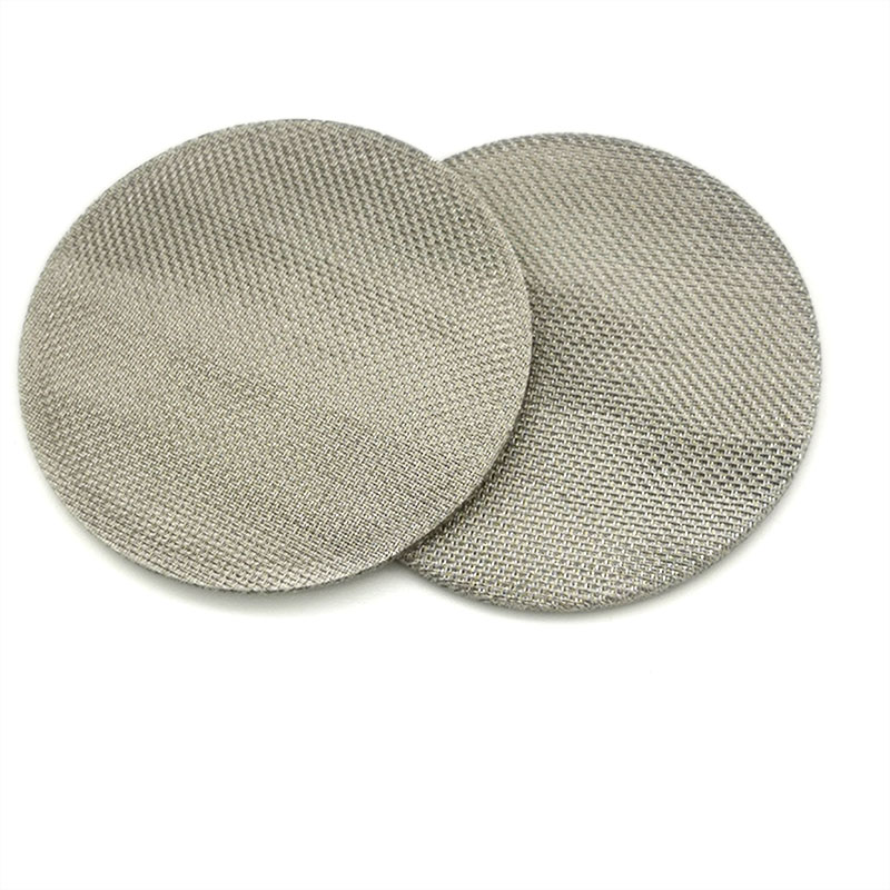 SUS 304 316 60 70 micron Sintered Stainless Steel Wire Mesh Filter Disc