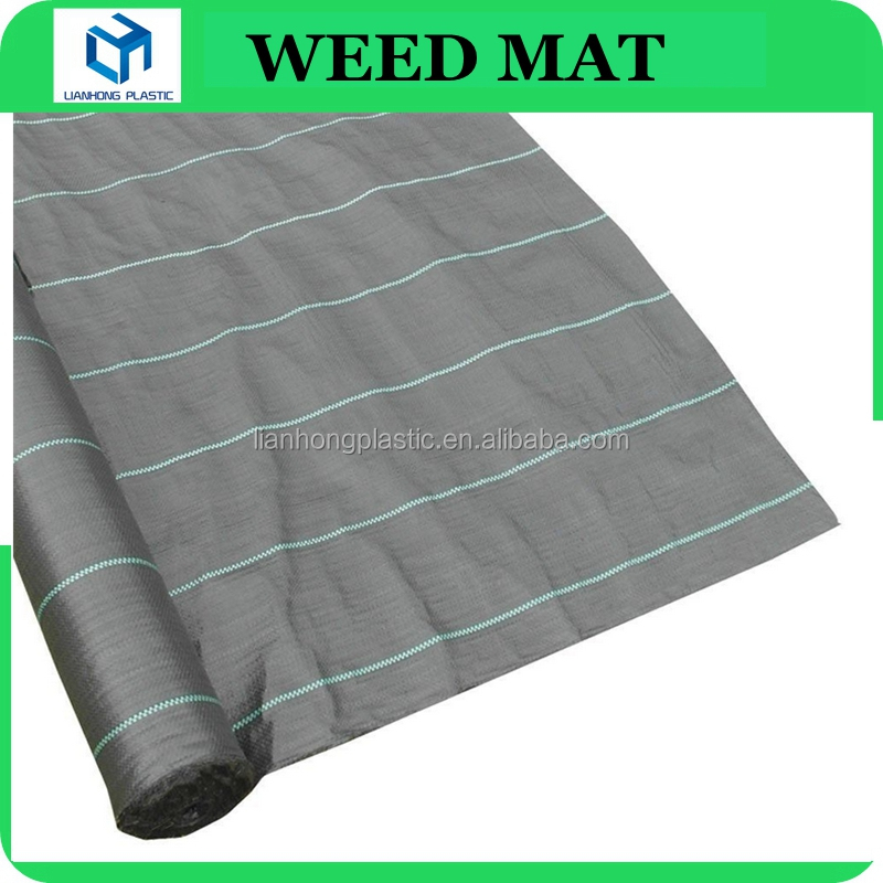 Plastic weed mat for farmland