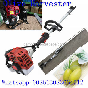 Gasoline electric olive tree shaker with carton packing